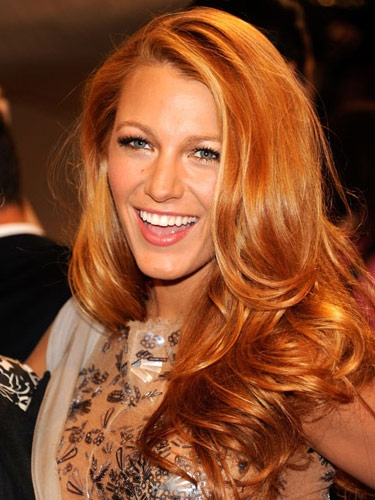 Light Caramel Red Long Hairstyles How To