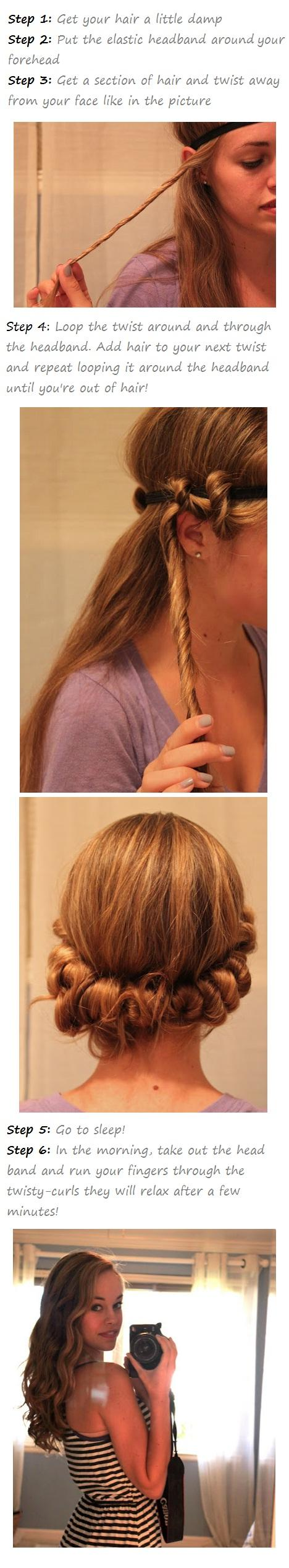 How to give yourself Natural looking curls
