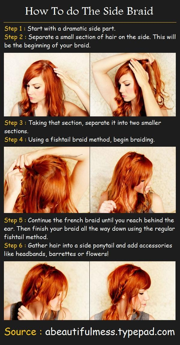 The Side Braid Hairstyle