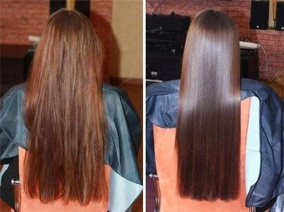 How to get silky shiny hair tutorial