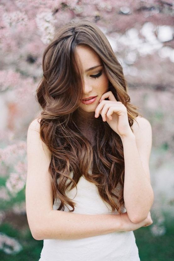 pretty brown hair – Long Hairstyles How To