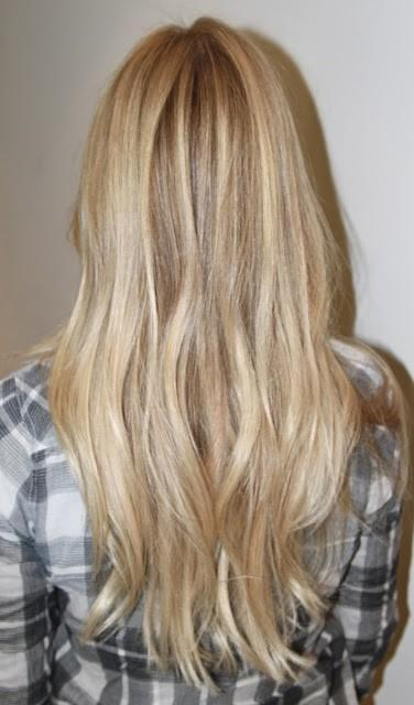 Blonde Hair Color Long Hairstyles How To
