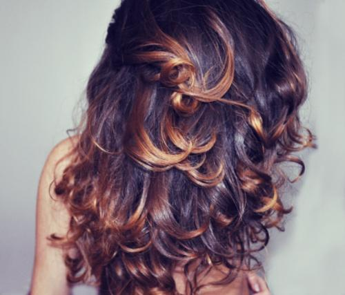Brunette Highlights Long Hairstyles How To