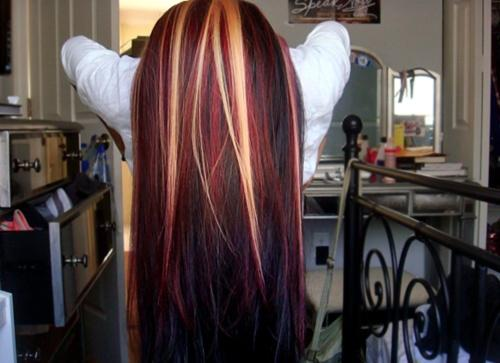 cool long hair with color – Long Hairstyles How To