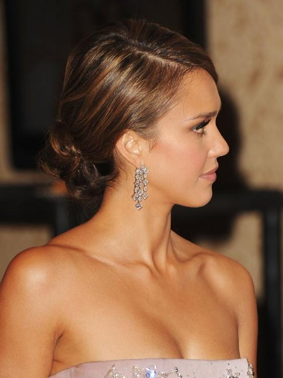 Jessica alba updo long hairstyles how to jessica alba updo hairstyles pmusecretfo Image collections