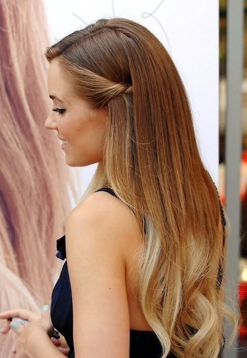 Lauren Conrad Elegant Hairstyle Long Hairstyles How To