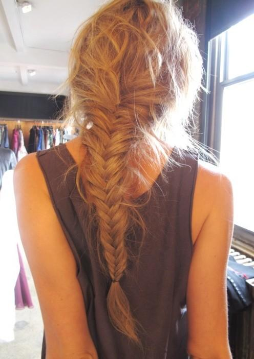 long fishtail hairstyle – Long Hairstyles How To