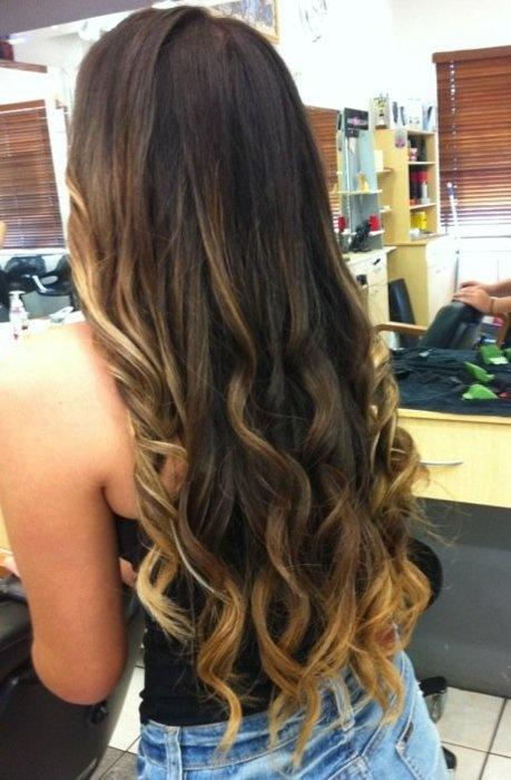 Long Curly Hair With Color Long Hairstyles How To