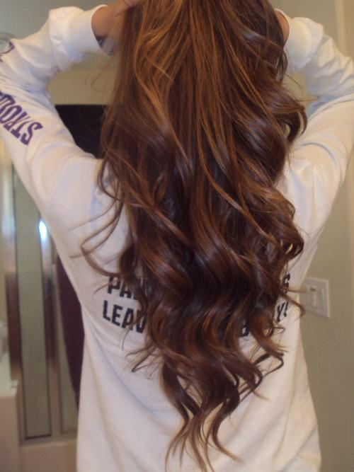 Pretty Brown Hair Long Hairstyles How To
