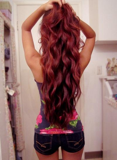 red hair � long hairstyles how to