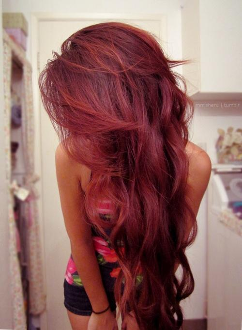 red hairstyle – Long Hairstyles How To