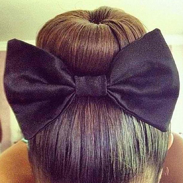 Miraculous Sock Bun With Bow Short Hairstyles Gunalazisus