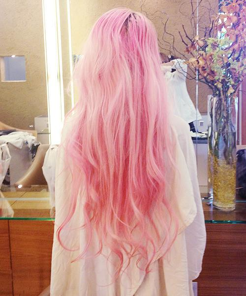 Pastel Pink Hair Long Hairstyles How To