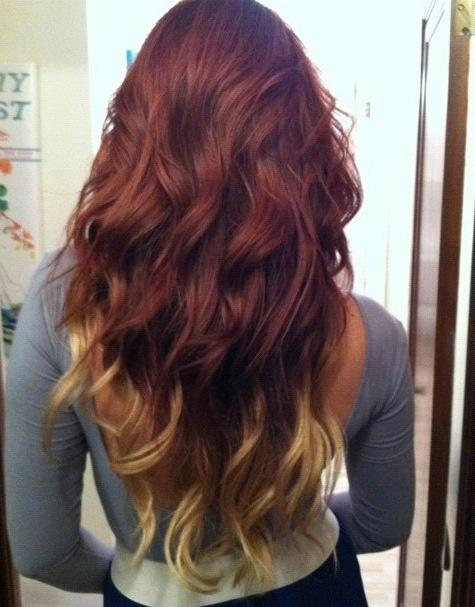 Bright Red To Beautiful Blonde My Hair Story