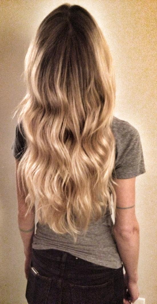 Blonde Ombre Highlights Long Hairstyles How To