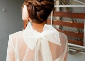 Twisted and tucked updo