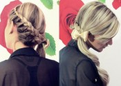 braided with bow tutorial