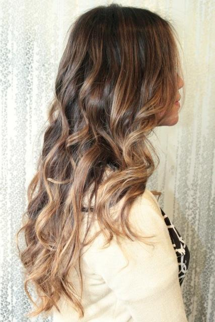 Brown ombre long hairstyles how to light brown ombre highlights urmus Gallery
