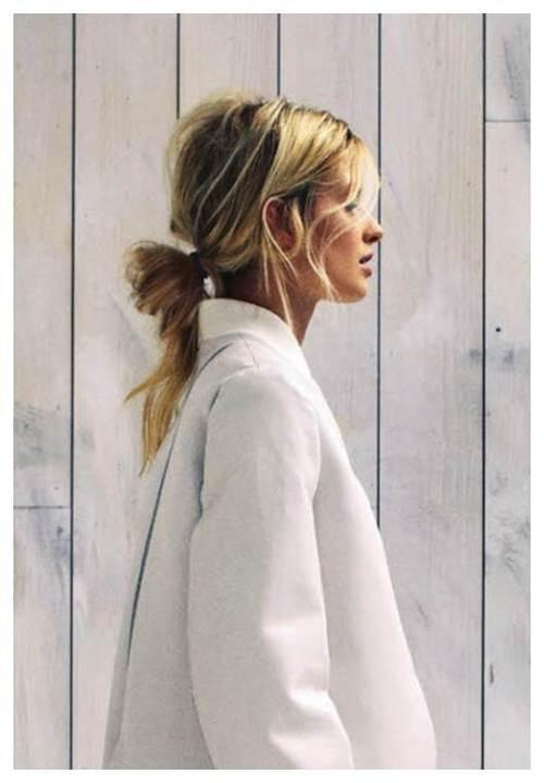 Looped Ponytail Long Hairstyles How To