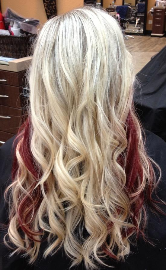 Peek A Boo Curls Long Hairstyles How To