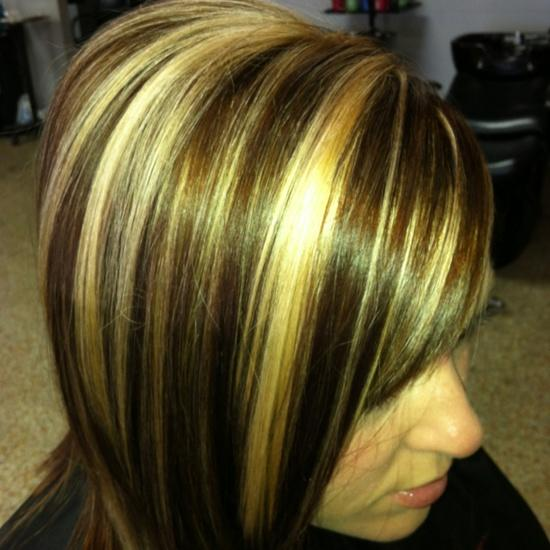 brown hair with copper and highlights copper brown with