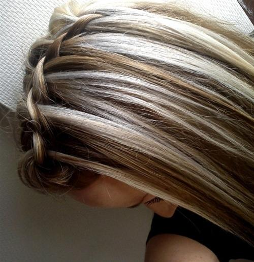 Brown Amp Blonde Highlights Long Hairstyles How To