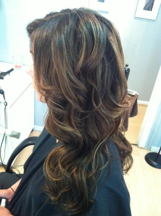 Extensions On Dark Brown Caramel Hair Long Hairstyles How To