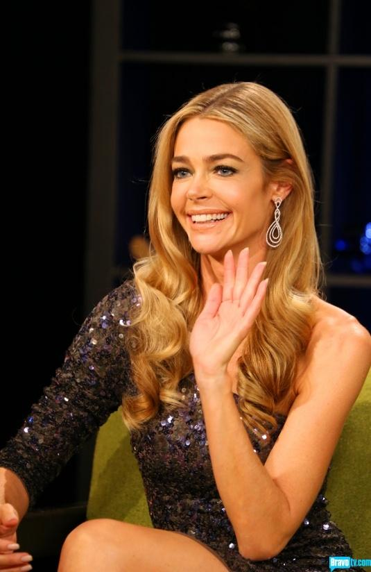 Watch Denise Richards Layered Long Wavy Hairstyles video