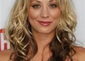 kaley cuoco blonde ombre